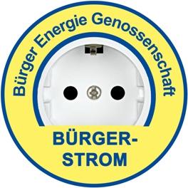 Logo Bürger Strom