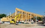 Bürger-Solardach Tennishalle Eching