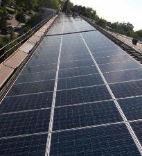Fotovoltaikanlage Grund- und Mittelschule Eching Mai 2013