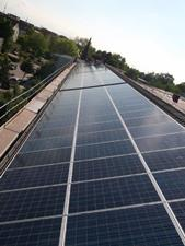 Bürger Energiegenossenschaft Freisinger Land Fotovoltaikanlage Eching Mai 2013