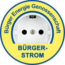 Logo Bürger-Strom BEG Freising mit Wind und Solarstrom aus dem Landkreis-210
