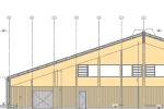 Tennishalle Eching - Photovoltaik - BEG - 150