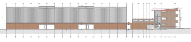 Tennishalle Eching Planansicht - Bürger-Solardach BEG